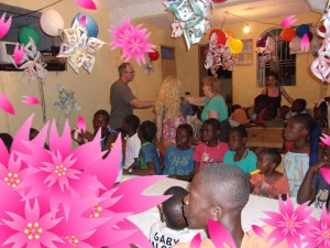 Party with Garden Hope of Children.