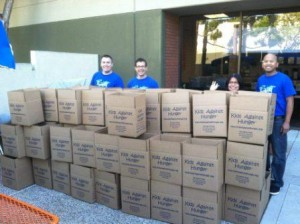 Kids Against Hunger (KAH) boxes
