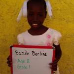 Bazile Berline-age8-grade1