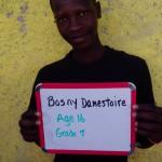 Bosny Damestoire-age16-grade7