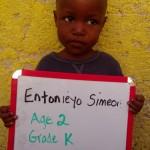 Entonieyo Simeon-age2-gradeK