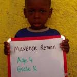Marvence Remon-age4-gradeK